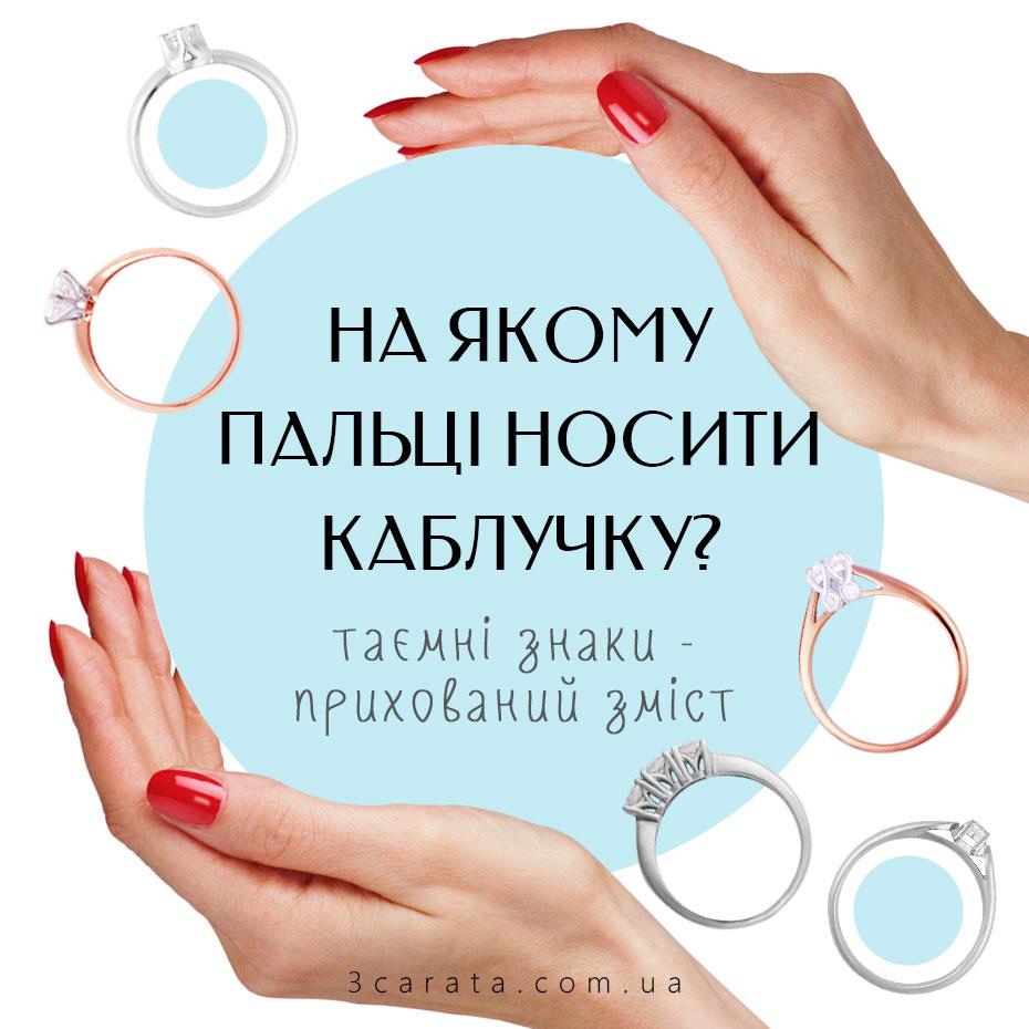 На якому пальці носити каблучку? Тест!