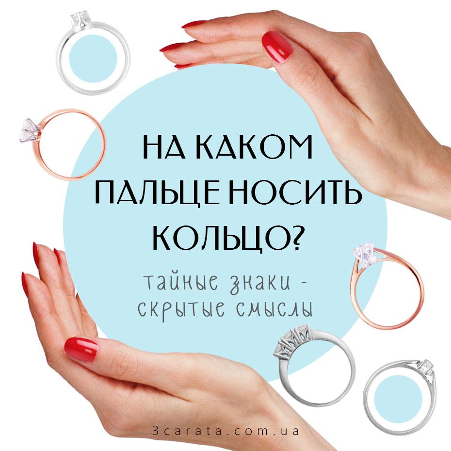 На каком пальце носить кольцо? Тест!