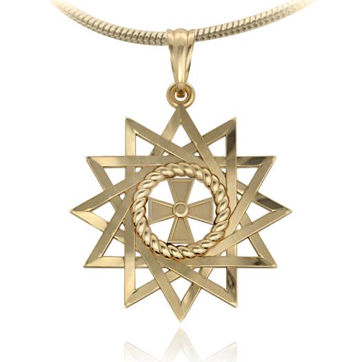 Эксклюзивный кулон-амулет Звезда Эрцгаммы