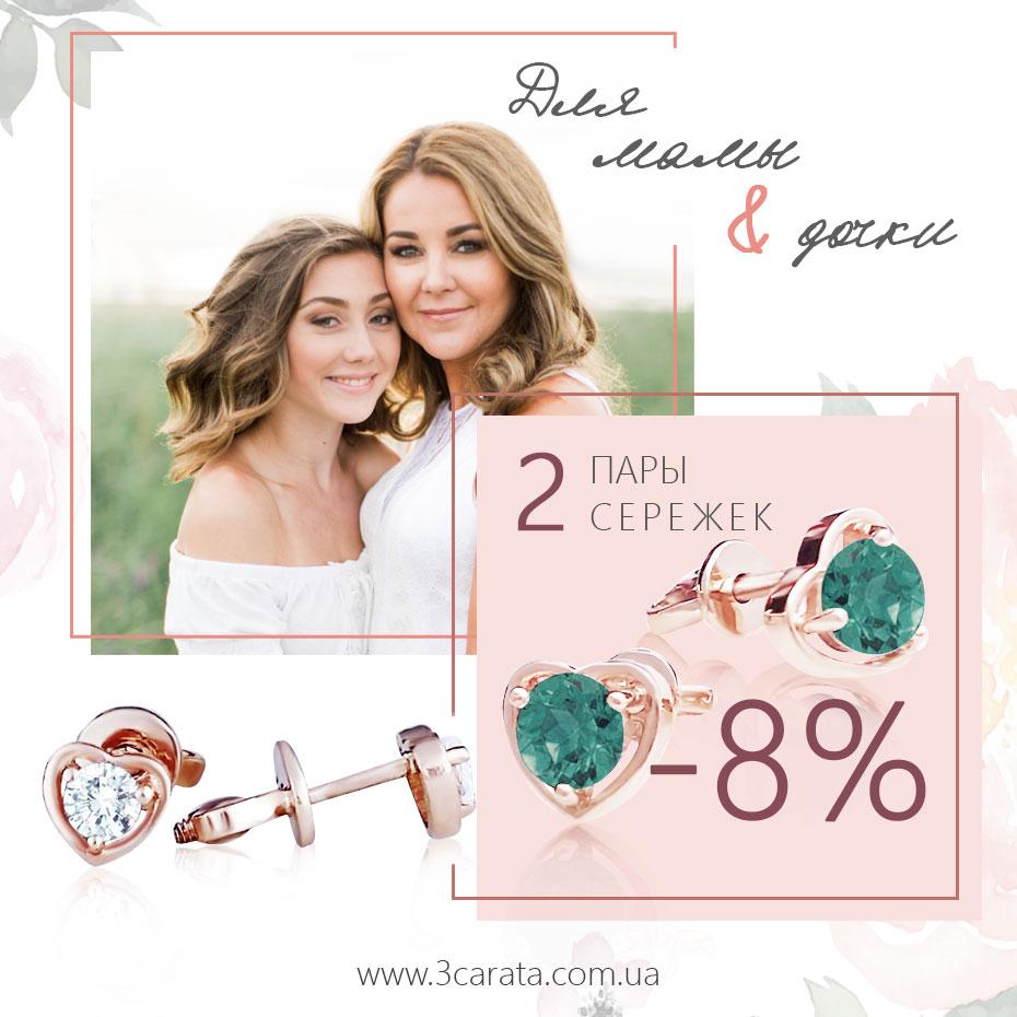 Золотые серьги Ювелирный интернет-магазин 3 Карата