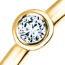 Помолвочное кольцо бриллиант
