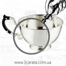 Чашка серебряная 'Hi-Tech'