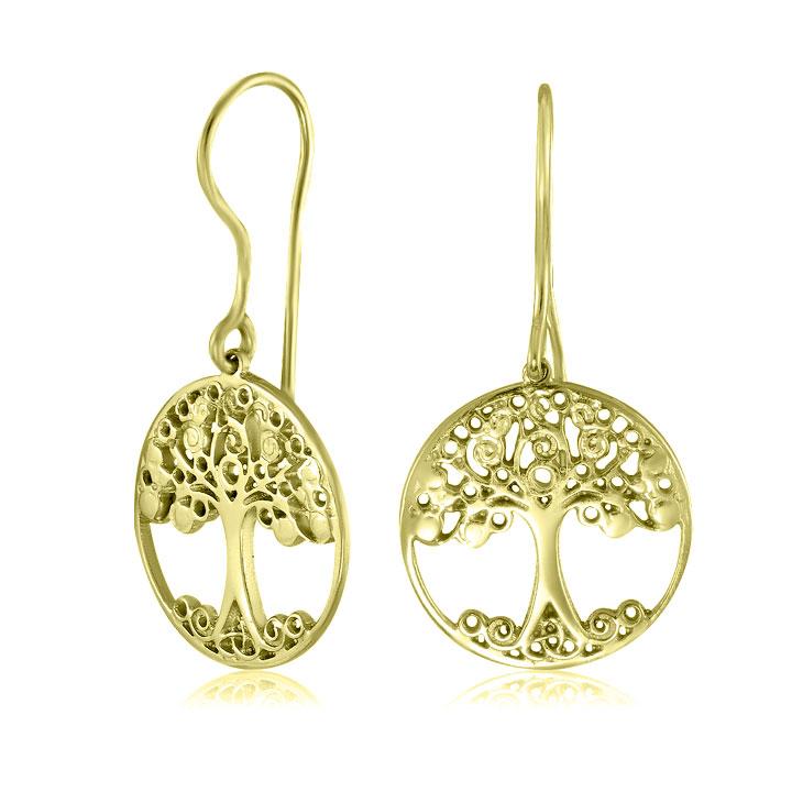 Золоті сережки без каміння ювелірний-інтернет магазин 3Карата