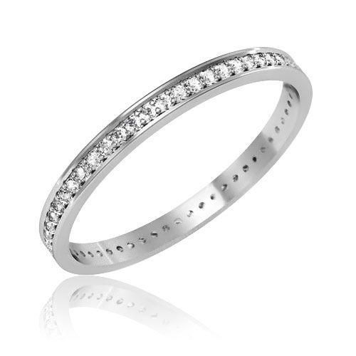 Обручальное кольцо бриллианты