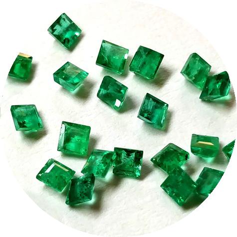 Бирон - Изумруды гидротермальные