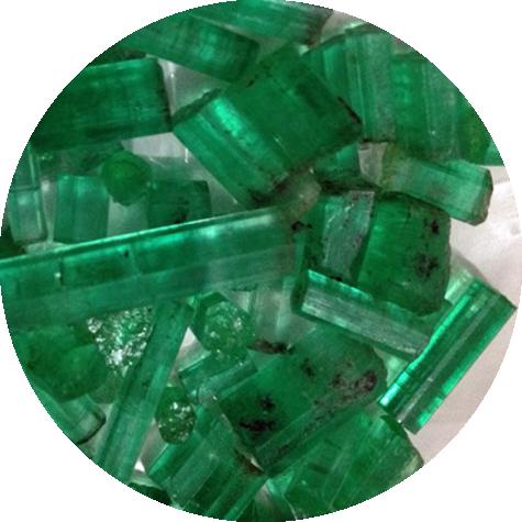 Chinese - Изумруды гидротермальные