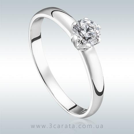 Кольцо на помолвку с бриллиантом 'Диана'
