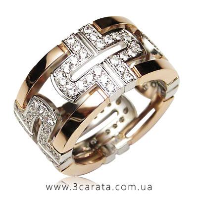 Обручальное кольцо эксклюзивное - 3 Карата