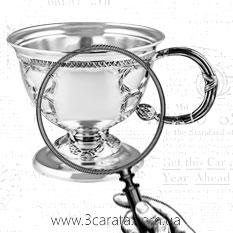 Серебряная чайная чашка 'Царская'