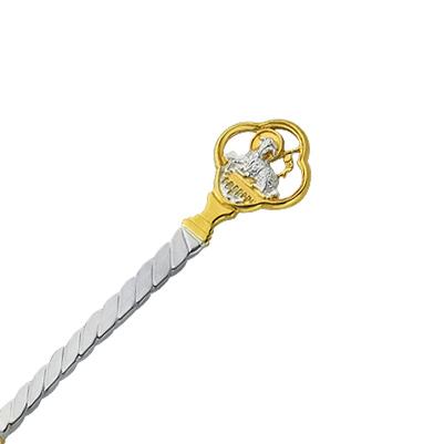Срібна ложка на хрестини 'Для дитини'