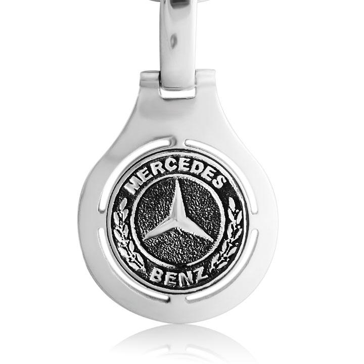 Срібний брелок 'Mercedes'