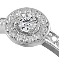 Золота каблучка на заручини діаманти