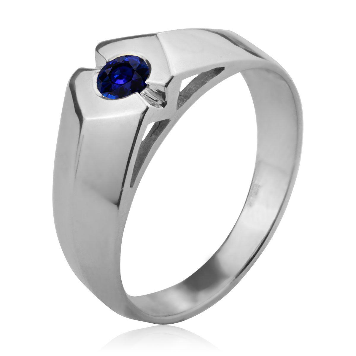 Золотой перстень cапфир